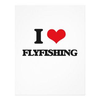 Amo el Flyfishing Folleto 21,6 X 28 Cm