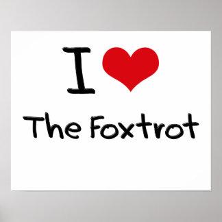 Amo el Foxtrot Impresiones
