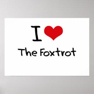 Amo el Foxtrot Poster
