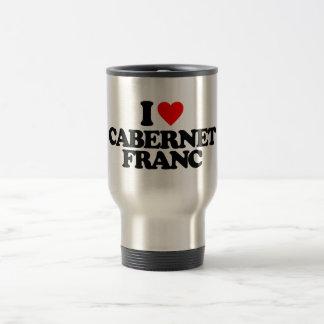 AMO EL FRANCO DE CABERNET TAZA DE CAFÉ