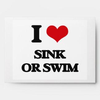 Amo el fregadero o nado