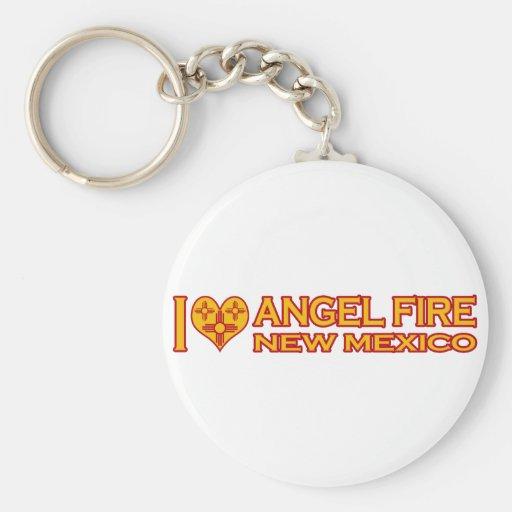 Amo el fuego del ángel, nanómetro llaveros