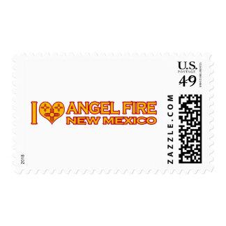 Amo el fuego del ángel, nanómetro sellos postales