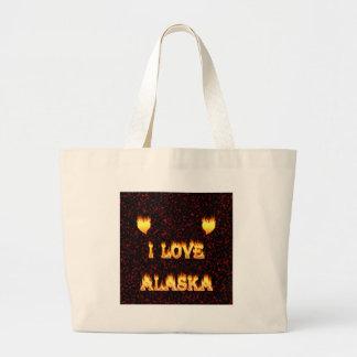 Amo el fuego y las llamas de Alaska Bolsa