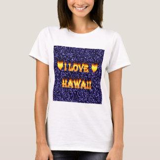 Amo el fuego y las llamas de Hawaii Playera