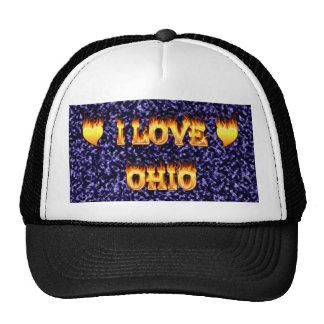 Amo el fuego y las llamas de Ohio Gorra