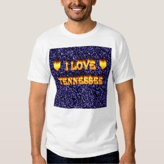Amo el fuego y las llamas de Tennessee Playeras