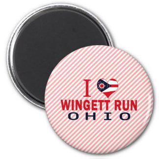 Amo el funcionamiento de Wingett Ohio Imán De Frigorifico