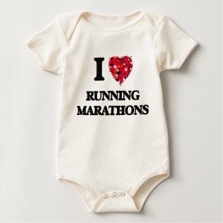 Amo el funcionar con de maratones mameluco