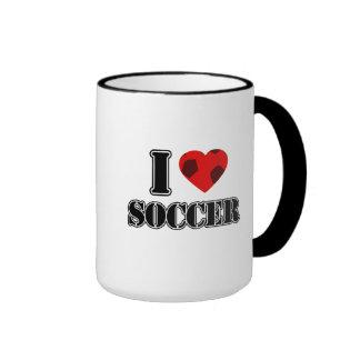 Amo el fútbol - tazas