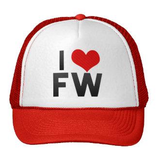 Amo el FW Gorros