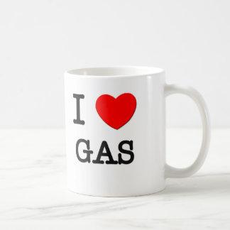 Amo el gas tazas