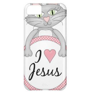 Amo el gato de Jesús Funda Para iPhone 5C
