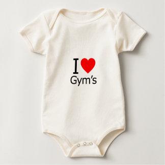 Amo el gimnasio body para bebé
