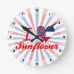 Amo el girasol, Mississippi Reloj
