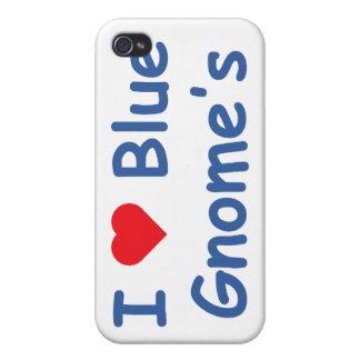 Amo el gnomo iPhone 4 fundas