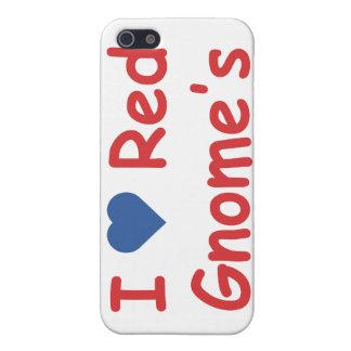 Amo el gnomo iPhone 5 carcasa