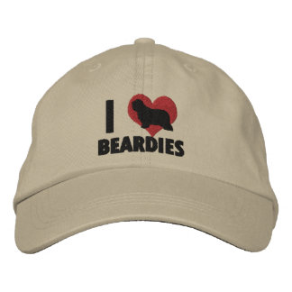 Amo el gorra bordado Beardies Gorra De Béisbol Bordada