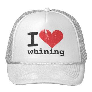 Amo el gorra de gimoteo del camionero