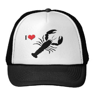 Amo el gorra de la langosta