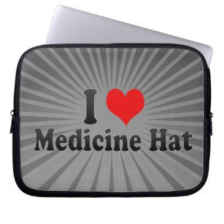 Amo el gorra de la medicina, Canadá Fundas Computadoras