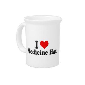 Amo el gorra de la medicina, Canadá Jarrones
