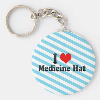 Amo el gorra de la medicina, Canadá Llaveros