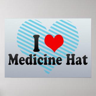 Amo el gorra de la medicina, Canadá Posters