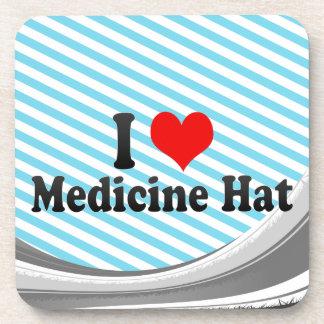 Amo el gorra de la medicina, Canadá Posavasos De Bebidas