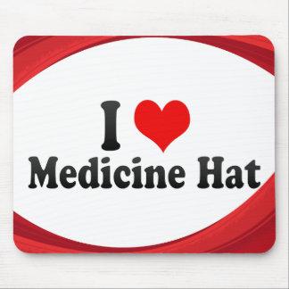 Amo el gorra de la medicina, Canadá Tapetes De Raton