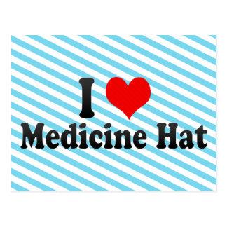 Amo el gorra de la medicina, Canadá Postales