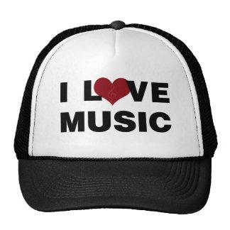 Amo el gorra de la música