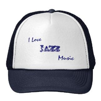 Amo el gorra de la música de JAZZ