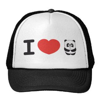 Amo el gorra de la panda