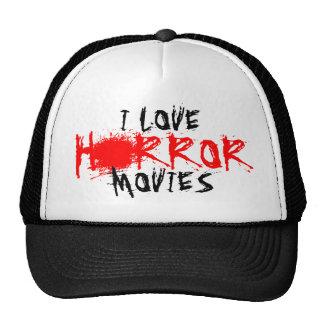 Amo el gorra de las películas de terror para las f