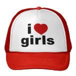 Amo el gorra de los chicas