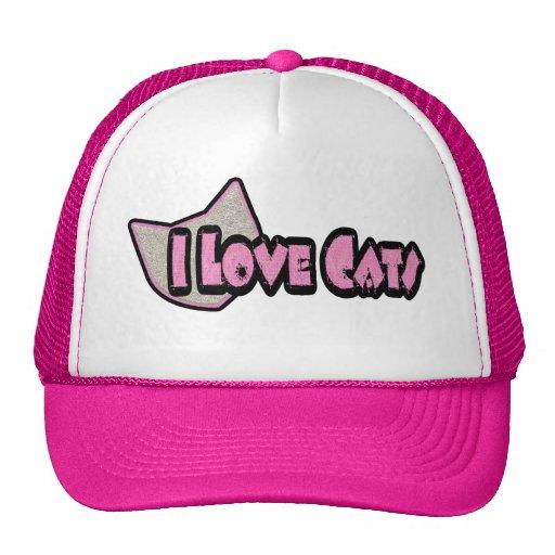 Amo el gorra de los gatos