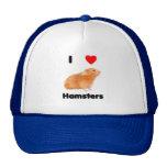 Amo el gorra de los hámsteres