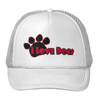 Amo el gorra de los perros
