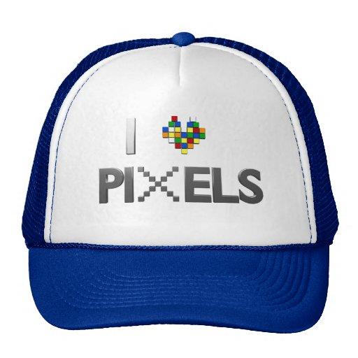 Amo el gorra de los pixeles