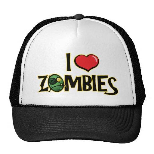 Amo el gorra de los zombis