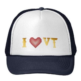 Amo el gorra de VERMONT