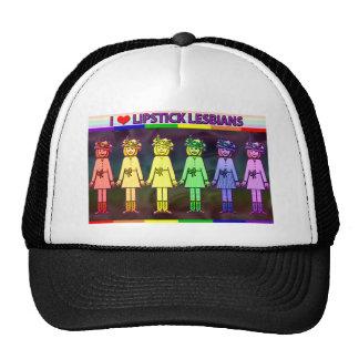 Amo el gorra del camionero de las lesbianas del lá