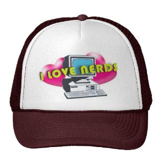 Amo el gorra del camionero de los empollones