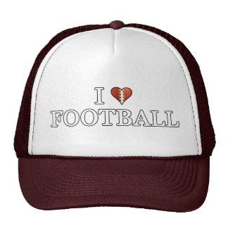 Amo el gorra del fútbol