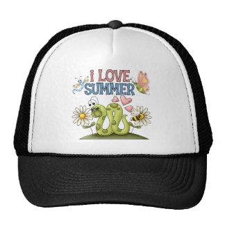 Amo el gorra/el casquillo del verano