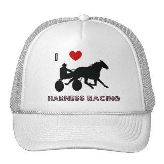 Amo el gorra el competir con de arnés