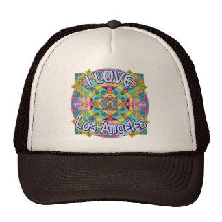 AMO el gorra feliz de Los Ángeles