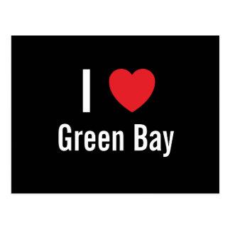 Amo el Green Bay Tarjetas Postales