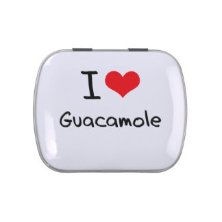 Amo el Guacamole Latas De Caramelos